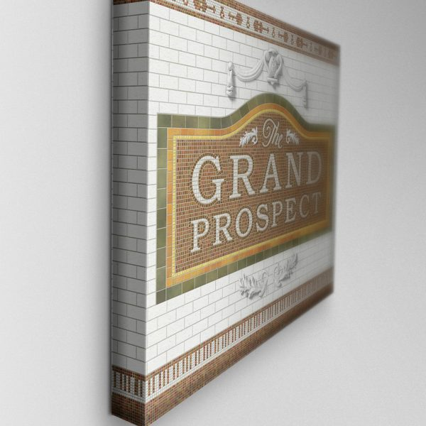 The Grand Prospect, Stretched Canvas 03