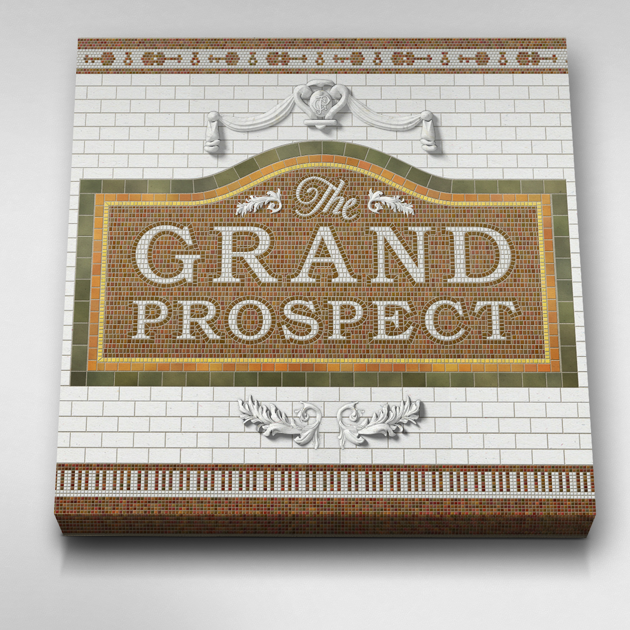 The Grand Prospect, Stretched Canvas 05